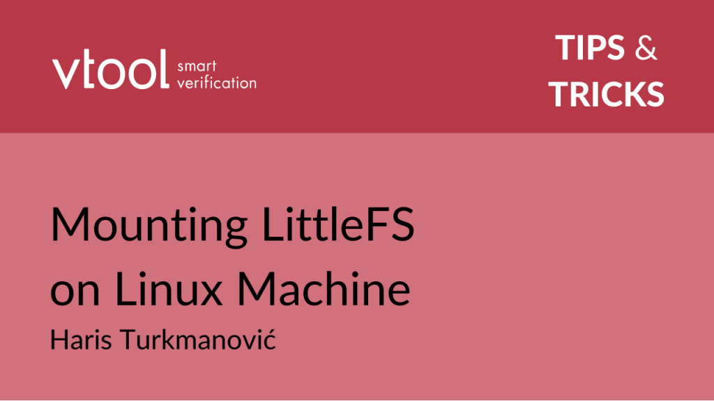 Mouting LittleFS on Linux Machine