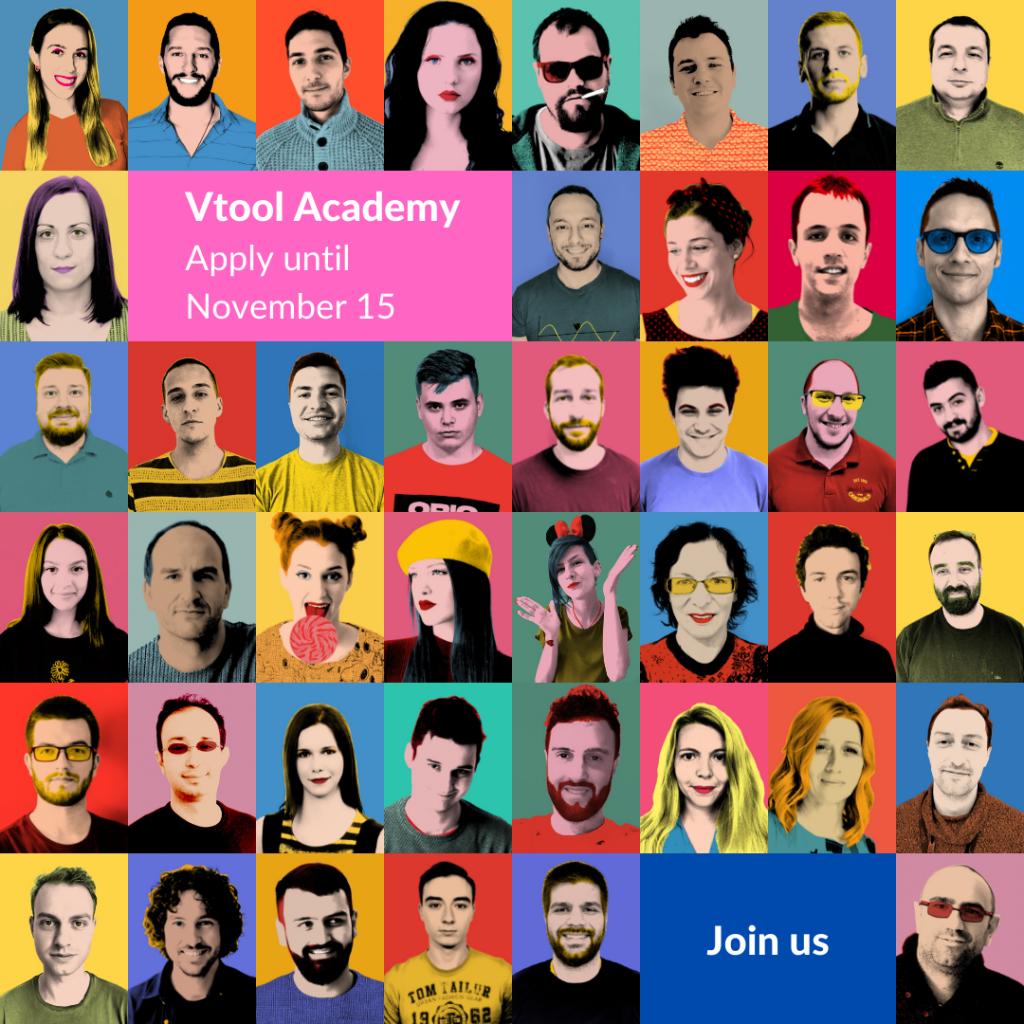 Vtool Academy Open Call